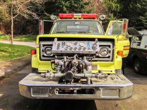 Mr. Locksmith made keys to a 1983 GMC 7000 Superior Fire Truck that is being donated to Uruguay